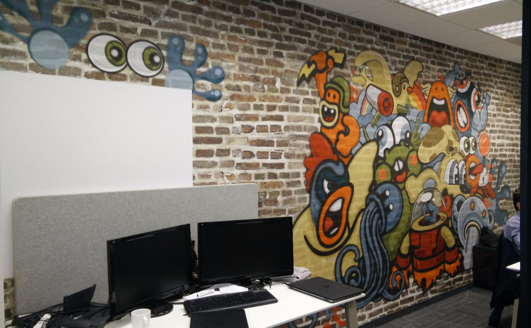 Wall graphics - openspace