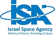 Israel space agency logo