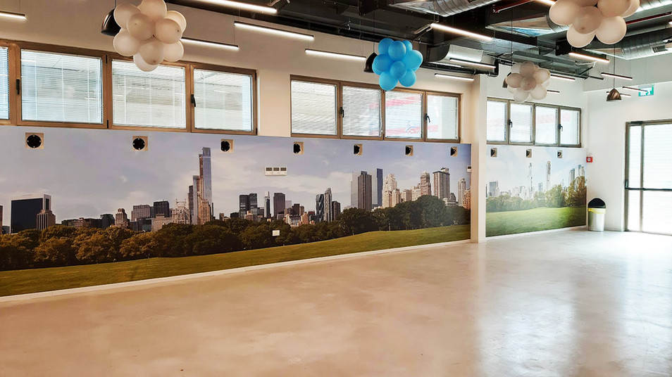Wall graphics - open space