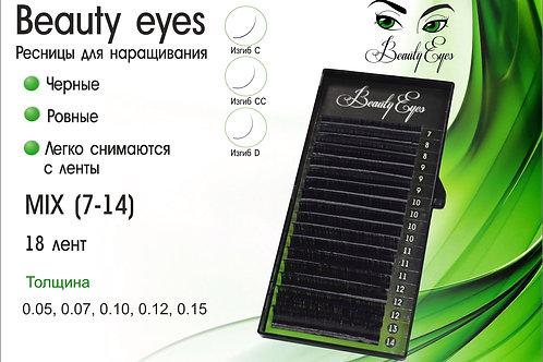 מיקס Beauty Eyes ריסים שחורים