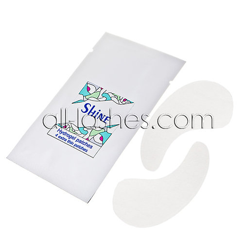 """""""Shine"""" hydrogel patches, one pair"""