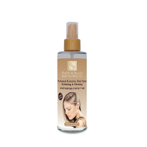 Ароматизированный спрей-блеск для волос c Кератином