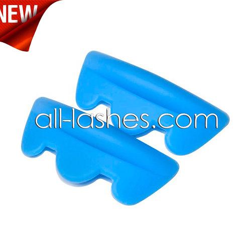 Curler, blue, kit 5 sizes