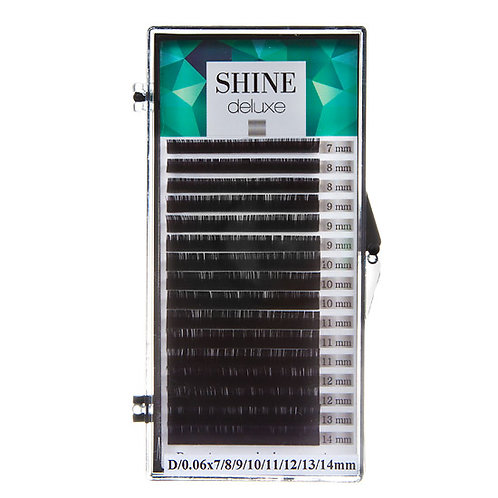 Black lashes,deluxe, ultrathin, mix