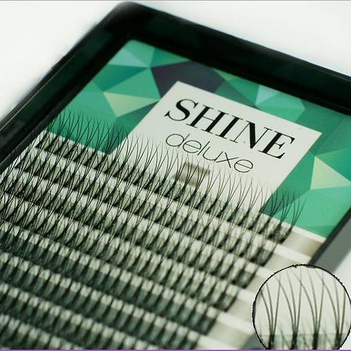 """Black """"Shine"""" lashes,volume 3-D, mix"""
