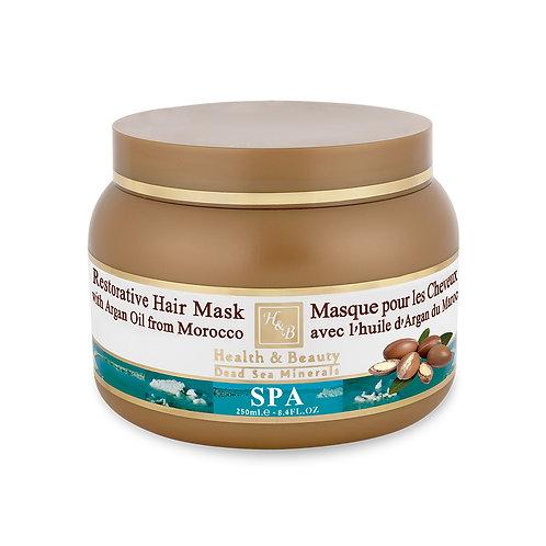 Маска для волос с маслом Марокканской Арганы