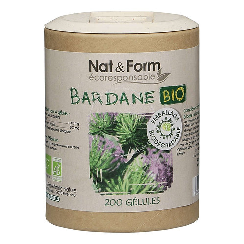 Bardane Bio Éco-responsable - 200 gélules