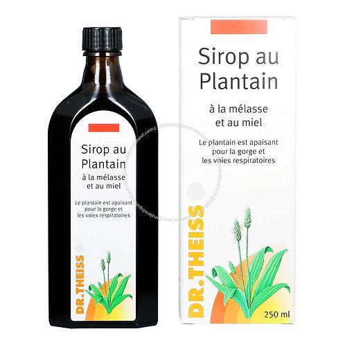 Sirop au plantain - 250 ml