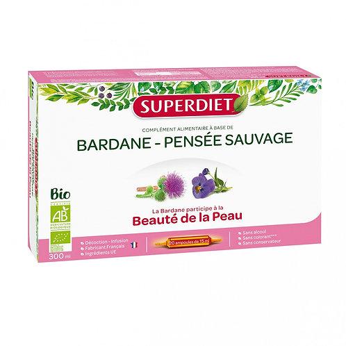 Bardane Pensée Sauvage - 20 ampoules