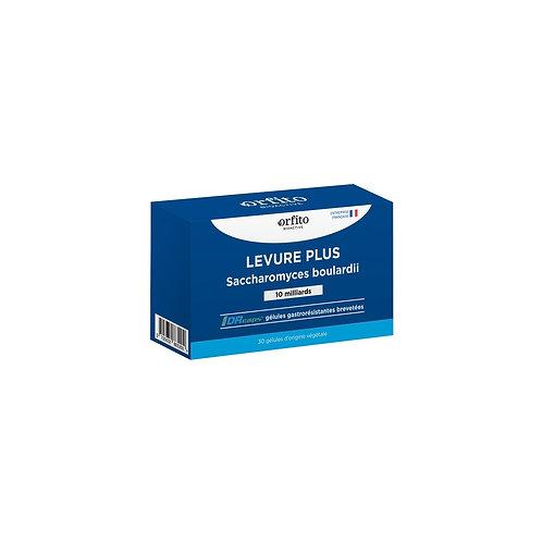 Levure Plus Saccharomyces boulardii - 30 gélules