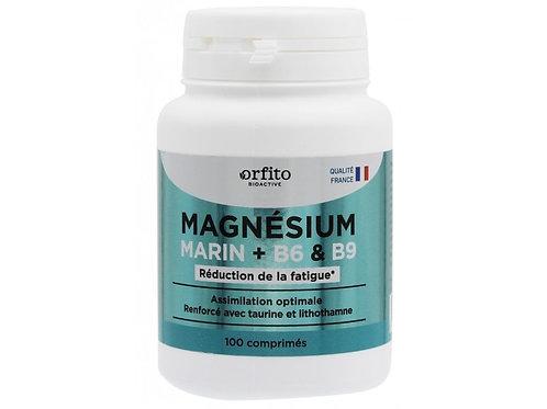 Magnésium marin renforcé, B6, B9 - 100 comprimés