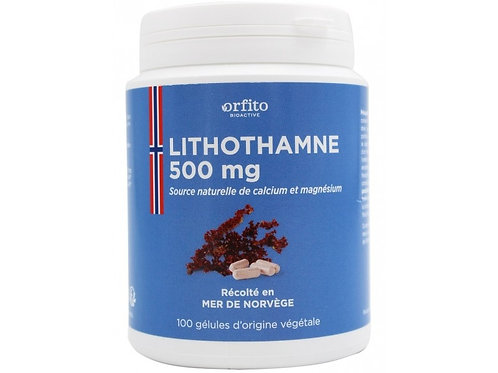 Lithothamne 500 mg - 100 gélules