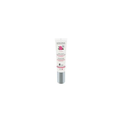 Crème lissante contour des yeux rose de Damas kalpariane Bio - 15 ml