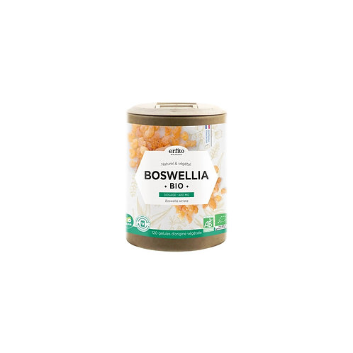 Boswellia Bio titré à 65% - 120 gélules