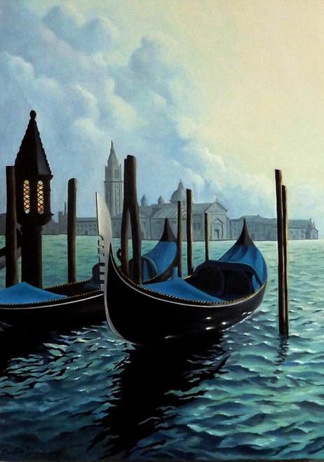 54) Venezia, riflessi a San Giorgio