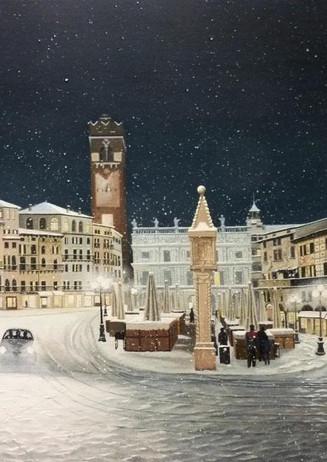 57) Verona,nevicata