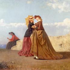 4.V.Cabianca_Al sole_1866_Olio su tela, cm. 75x90_Collezione privata, Bologna