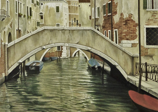 18) Canale a Venezia