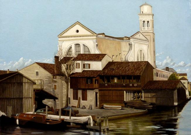 22) Venezia, Squero San Trovaso
