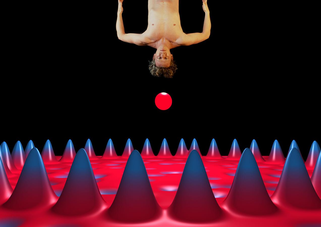 Quantum Corral, 2005, stampa lambda