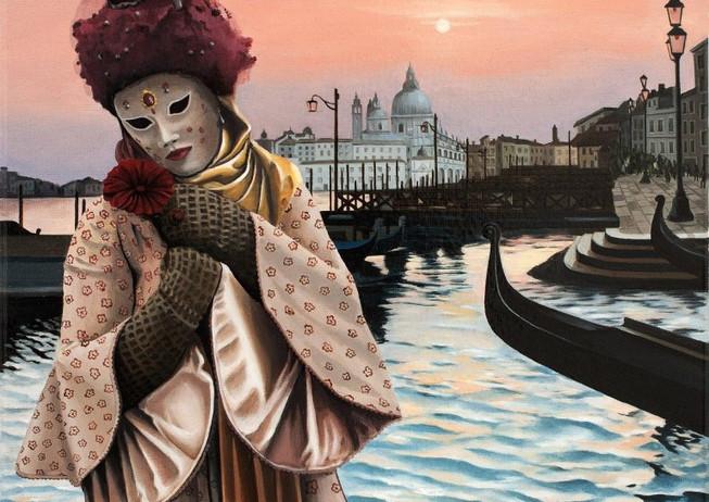 72) Venezia, maschera triste