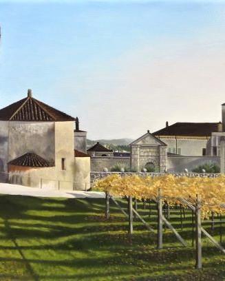 13) Fumane, tramonto d'Autunno a Villa Dipinto