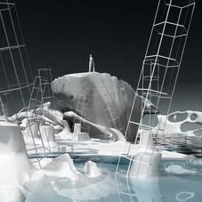 22_Rompere le acque, 2012, stampa digitale su carta cotone, 150 x 85 cm