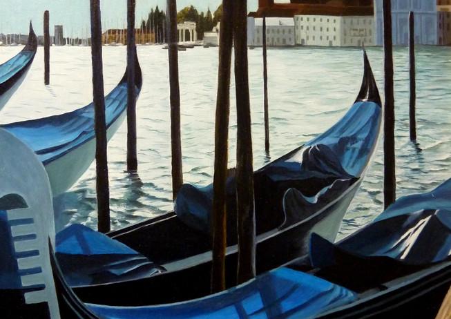 21) Venezia, gondole