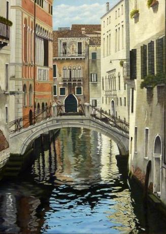 28) Venezia, dal ponte dei Barcaroli