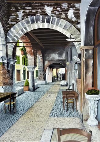 90) Verona, Via Sottoriva