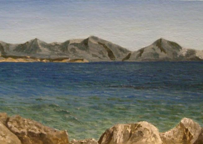 11) Il Lago di Garda da Desenzano