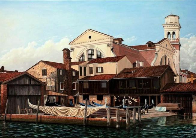 63) Venezia, la fabbrica delle gondole