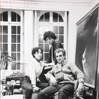 Horacio Gabin en Paris 1981