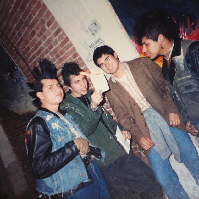 Grupo de Punks
