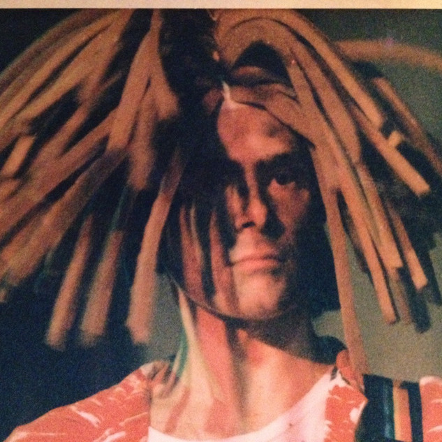 Horacio Gabin en la banda Los Apestosos (Los Reggie)