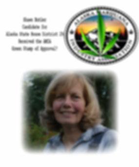 Shawn Butler - candidate green leaf stam