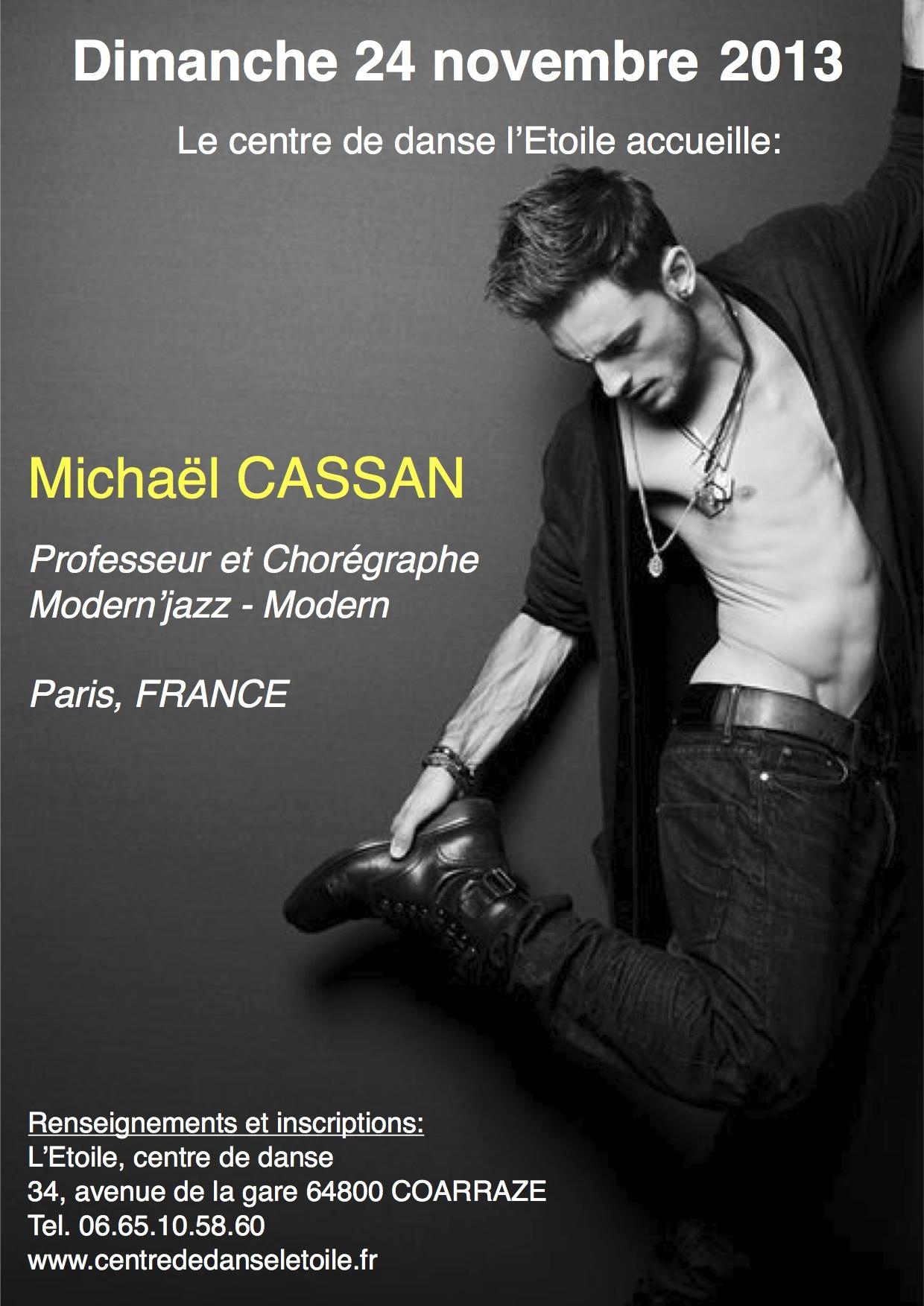 Stage Mickael Cassan