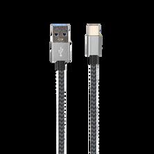 Cordon USB-C avec gaine tissu