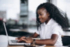 african-american-business-woman-working-