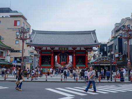 A Brief Walk in Asakusa