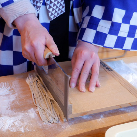 Echizen Soba Making Experience in Fukui