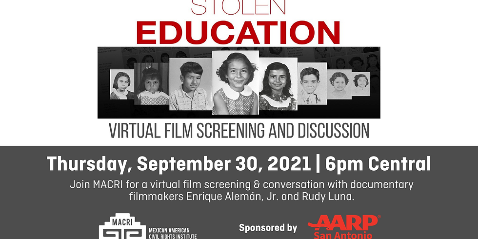 Stolen Education Documentary Screening & Conversation with the Filmmakers