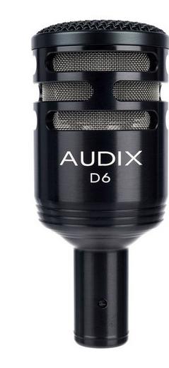 Audix D6 מיקרופון