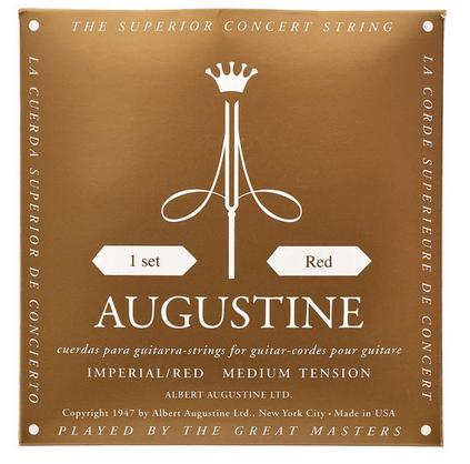 Augustine Classic Red Imperial מיתרים לגיטרה קלאסית