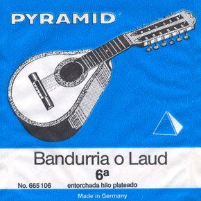 Pyramid  מיתרים ללאוד או בנדורייה