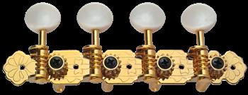 Golden Gate M-127 מפתחות למנדולינה ניקל מוזהב