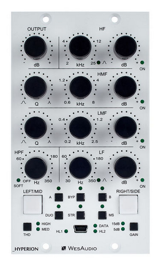 WES Audio Hyperion אקולייזר