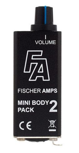 Fischer Amps Mini Bodypack 2 שלט אוזניות