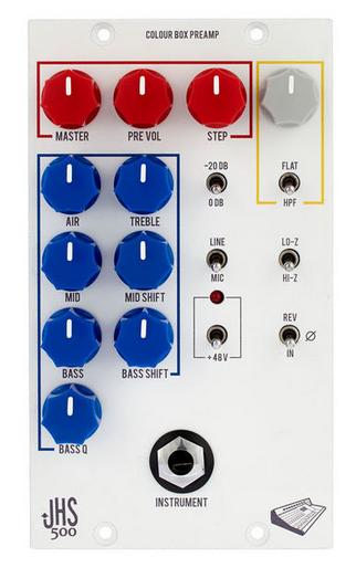 JHS Pedals Colour Box פרהאמפ/אקולייזר