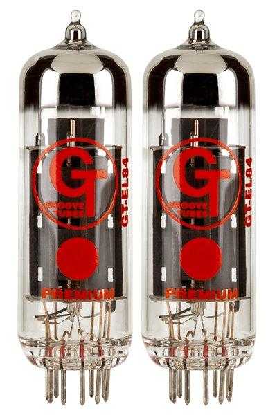 Groove Tubes EL84-S זוג מנורות